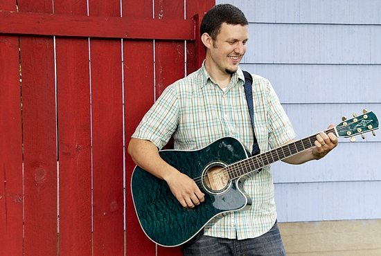 "Catholic musician Benjamin Brekke, a parishioner of St. Mark in St. Paul, is using the crowd-funding website Kickstarter to help him launch his debut album, ""Be Not Afraid."" Jennifer Janikula/For The Catholic Spirit"