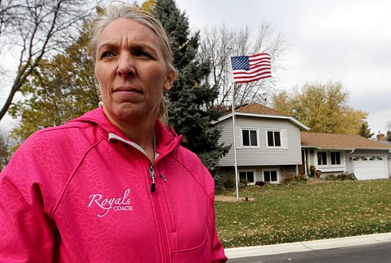 Pam Baker ran her age on her birthday Sept. 8, completing a run of 44 miles to honor military personnel from Minnesota who died in the line of duty. She herself is a veteran, having served as a nurse in the Navy. Dave Hrbacek/The Catholic Spirit