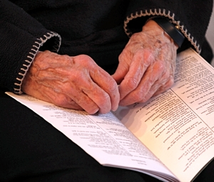 The sisters' communal prayer includes the Liturgy of the Hours, prayers based on psalms.