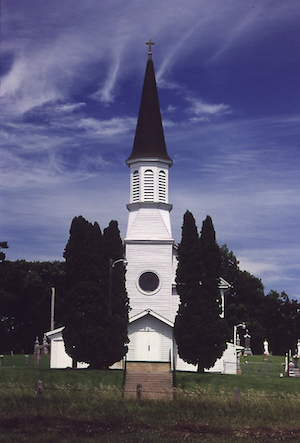 St. Catherine Church in Spring Lake Township, Scott County