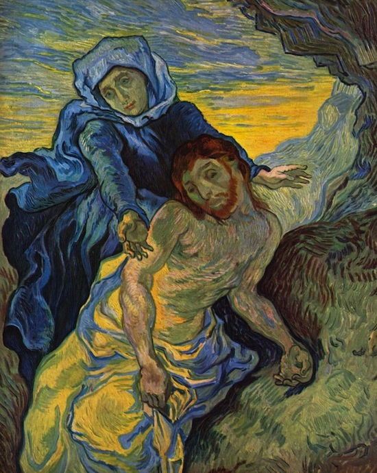 Pieta, by Vincent vah Gogh