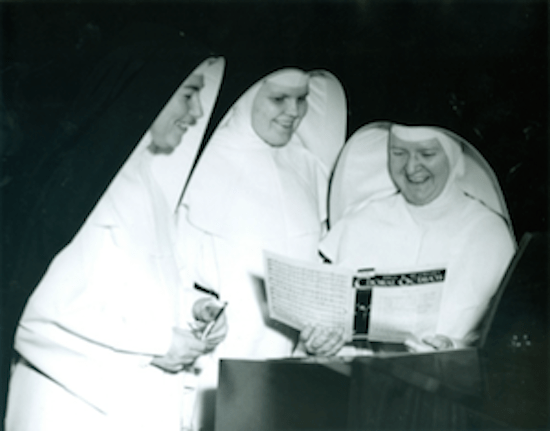larger Trio of nuns in habits
