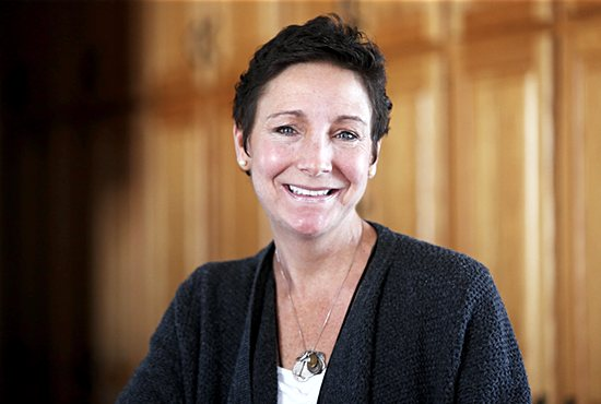 """Kristen Soley of St. Mary in Waverly says she experienced a """"medical miracle."""" She was diagnosed with advanced cancer in November 2015, but now is cancer free. Dave Hrbacek/The Catholic Spirit"""