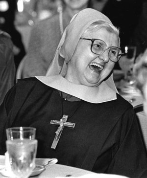 Mother Angelica, founder of Eternal Word Television Network, is pictured in an undated photo. She died March 27 at the Poor Clares of Perpetual Adoration monastery in Hanceville, Ala. She was 92. CNS files
