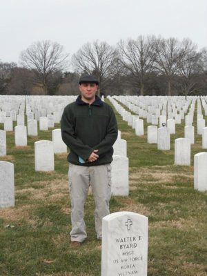 On a chilly February afternoon in Arlington National Cemetery, Father Joseph Brankatelli walked alone before a horse-drawn caisson bearing the remains of World War II veteran Robert Andre.