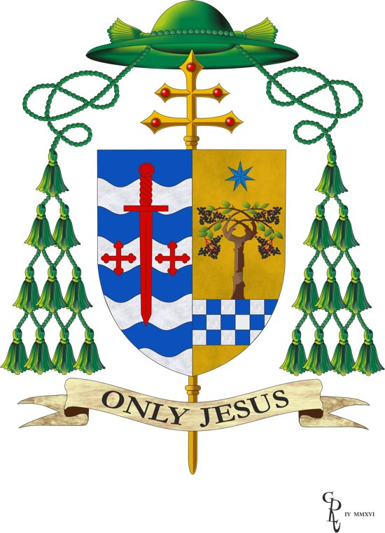 Coat of Arms Archbishop Hebda big