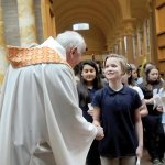 Boys, girls make Year of Mercy pilgrimage to monasteries in Minnesota