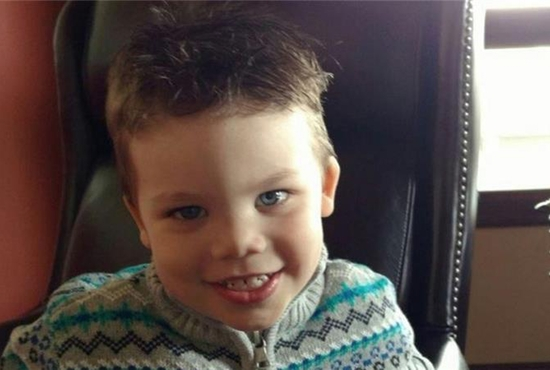 Lane Graves, 2, is pictured in a recent photo. The boy and his family were visiting Walt Disney World in Orlando, Fla., when he was dragged by an alligator into a lagoon at the resort the night of June 14. The boy's body was found June 15. The Graves family belongs to St. Patrick's Catholic Parish in Elkhorn, Neb. CNS photo/Orange County Sheriff's office