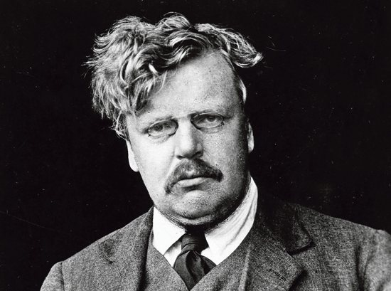 "G.K. Chesterton, above, published ""Eugenics and Other Evils"" in 1922. The author ""understood that evil is always introduced with sweet-sounding names; that you put people to sleep. With these euphemisms, you give them chloroform before you attack them,"" said Basilian Father Ian Boyd, president of the G.K. Chesterton Institute for Faith and Culture at Seton Hall in South Orange, N.J. Courtesy the American Chesterton Society"
