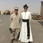 Catholic military chaplains sometimes find peace in a war zone