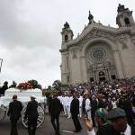 Castile funeral at Cathedral sign of mercy for family, mourners