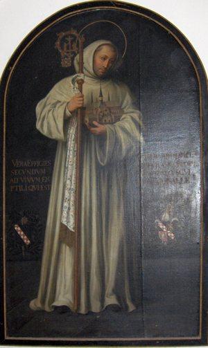 Bernard of Clairvaux, true effigy by Georg Andreas Wasshuber (1650–1732)