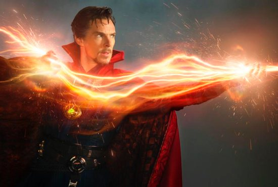 """Benedict Cumberbatch stars in a scene from the movie """"Doctor Strange."""" The Catholic News Service classification is A-III -- adults. The Motion Picture Association of America rating is PG-13 -- parents strongly cautioned. Some material may be inappropriate for children under 13. CNS photo/Disney"""