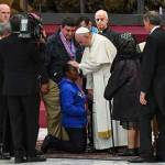Forgive us for looking other way, pope tells homeless people