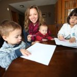 Early Catholic Family Life teaches preschoolers, unites parents