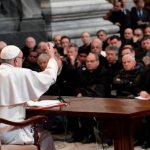 Faith can't grow without temptation, pope tells Rome priests