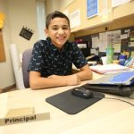 St. Pascal student prepares to be principal for evening