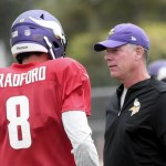 Minnesota Vikings coach brings faith to the field