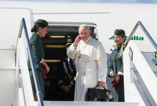 Pope Francis arrives in Colombia for visit to promote reconciliation