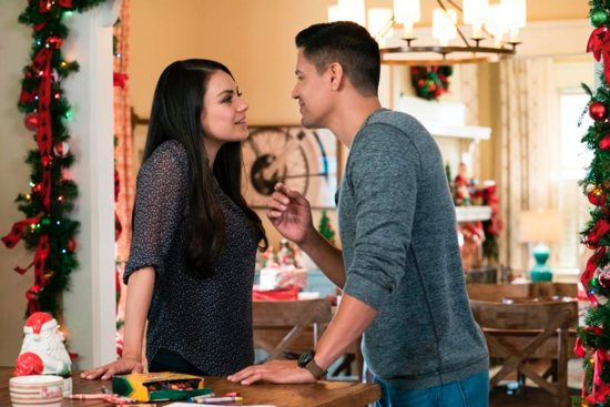 Mila Kunis And Jay Hernandez Star In A Scene From The Movie U201cA Bad Moms  Christmas.u201d The Catholic News Service Classification Is O U2014 Morally  Offensive.