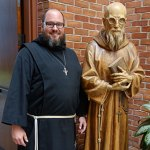 Religious brother strives to emulate fellow Franciscan