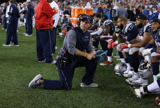 New England Patriots Catholic coaches