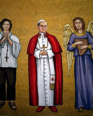 Blessed Paul VI mosaic