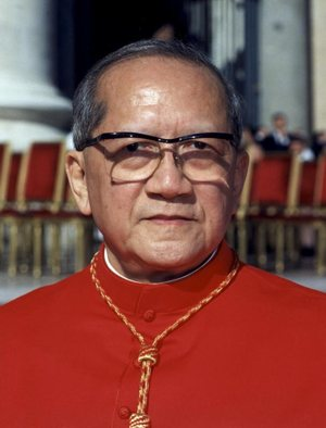 Pope Francis cited Cardinal Francois Nguyen Van Thuan in talikng about the Christian call to holiness