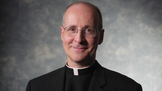 Jesuit Father James Martin, a popular author and editor at large of America, the Jesuits' national magazine,