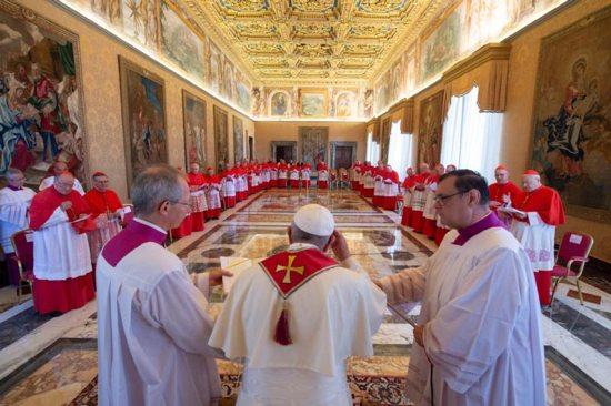 The pope announced he would canonize seven news saints Oct. 14. Among those to be canonized are Blessed Paul VI, Blessed Oscar Romero and Blessed Nunzio Sulprizio, an Italian teenager.