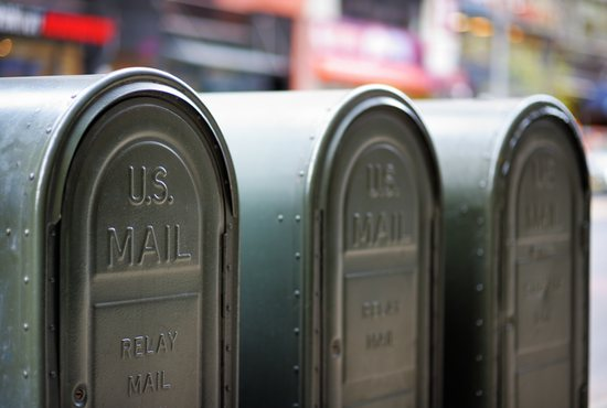 Mailboxes, U.S. Postal Service