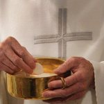 Eucharist is a taste of heaven on earth, pope says