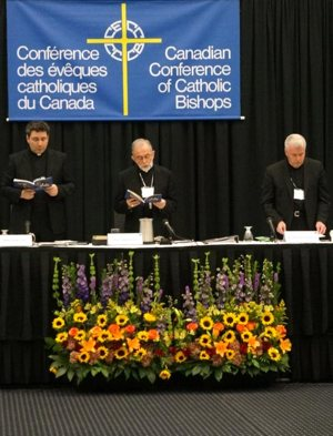 The Quebec bishop spoke to more than 80 bishops about the sexual abuse crisis.