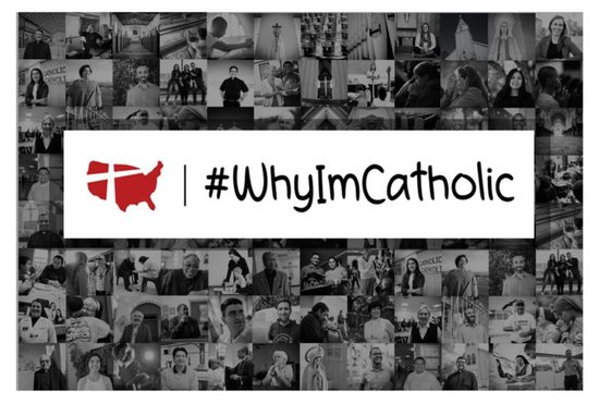 #WhyImCatholic campaign that invites Catholics to share stories of hope as a way to support one another and walk together in faith through the challenging times facing the Catholic Church.
