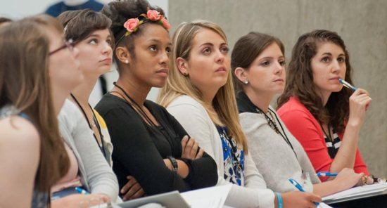 he forum set in motion a newly formed organization called the GIVEN Institute to train young Catholic women leaders.
