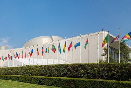 U.N. building N.Y.