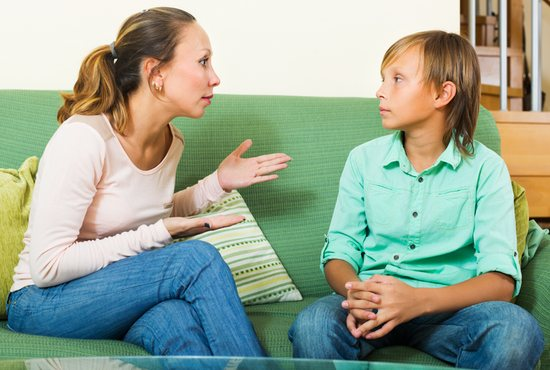 Discussion with children