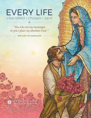 """""""Every Life: Cherished, Chosen, Sent"""" is the theme for Respect Life Month, observed in October."""