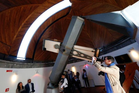 The telescope was used by the Vatican for its part in an international survey of the night sky.