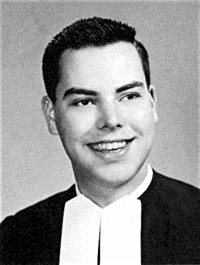 Brother James Miller yearbook photo