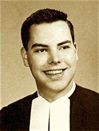 Brother James Miller yearbook photo