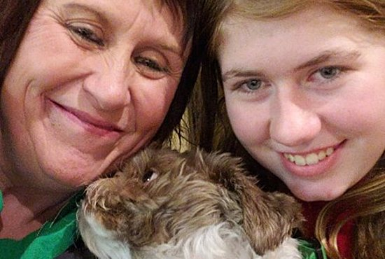 Jayme Closs, right, pictured here with her aunt, Jennifer Smith