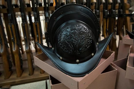 "The Swiss Guard have starting using helmets made with a 3D printer and tough, weather-resistant ASA thermoplastic. The cooler, more lightweight headgear is crafted in the ""morion"" style of the Renaissance. The new ceremonial helmets were used by the 110 Swiss soldiers for the first time Jan. 22, 2019, during a special ceremony commemorating the 513th anniversary of their foundation by Pope Julius II."