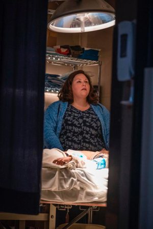 "Chrissy Metz stars in a scene from the movie ""Breakthrough."" The film, opening April 17, is the story of prayer and faith of a mother who, against all odds, believes that God will heal her 14-year-old son and restore him to health after he falls through ice on a frozen lake and is deprived of oxygen for 20 minutes, is without a pulse for 45 minutes and shows no signs of life at the hospital."