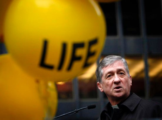 """Chicago Cardinal Blase J. Cupich, pictured in a Jan. 18, 2015, photo, and other Illinois bishops, are urging the state's lawmakers to take no action on a bill that """"dramatically rewrites current abortion law, and goes further than Roe v. Wade."""""""