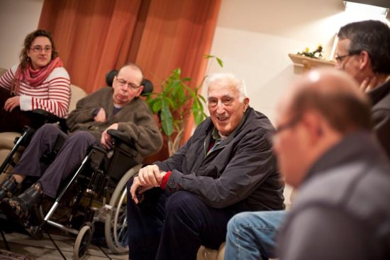 Jean Vanier, founder of the L'Arche communities, is pictured in a March 3, 2011, photo. Vanier, a Canadian Catholic figure whose charity work helped improve conditions for the developmentally disabled in multiple countries over the past half century, died May 7 at age 90.