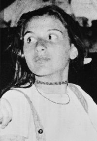 Emanuela Orlandi is pictured in a photo that was distributed after her presumed kidnapping in 1983.