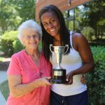 Wimbledon champ carried gift from confirmation sponsor to each match