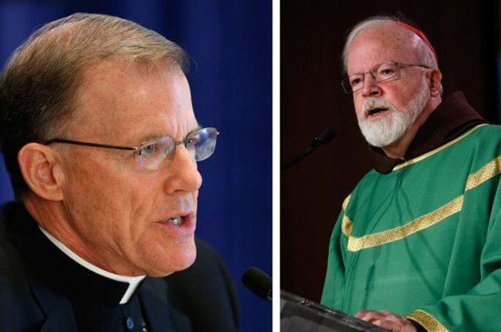 Archbishop John C. Wester of Santa Fe, N.M, and Boston Cardinal Sean P. O'Malley
