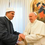 On 9/11, pope greets Vatican, Muslim leaders promoting world peace